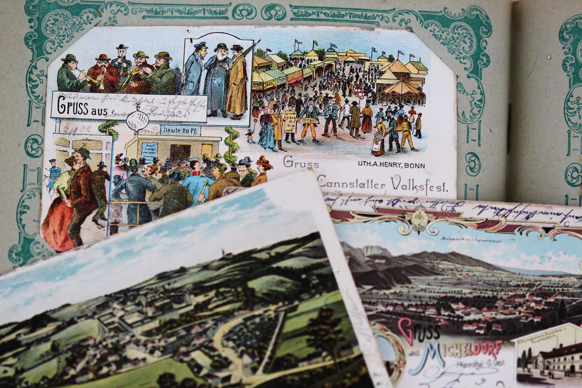 antiquitäten ankauf stuttgart ansichtskarten